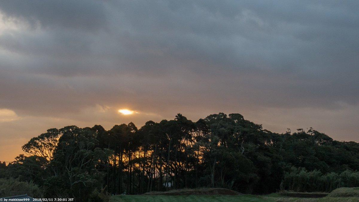 おはようございます。今朝はガッツリと曇り、低温が復活し風は10m/s程度で激寒!。#イマソラ #空 #種子島 https://t.co/u0wrkUlWsX