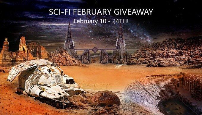Sci-Fi February Giveaway