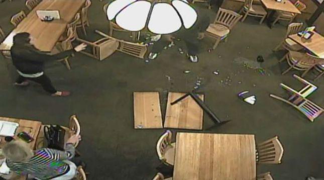 Customer makes mess, breaks table in Wilmington restaurant - | WBTV Charlotte