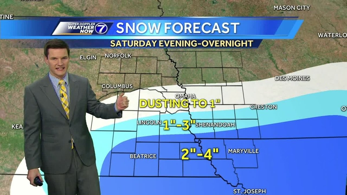 Winter Weather Advisory in effect south of the metro, some snow still likely in Omaha