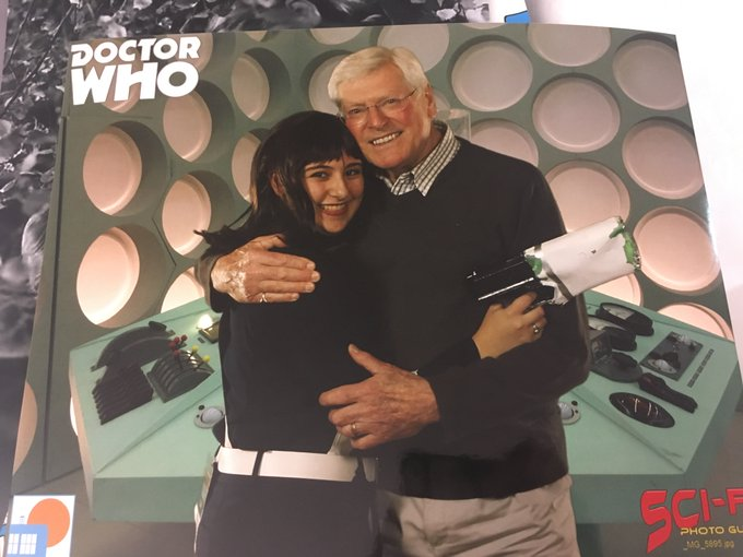 Happy Birthday to Peter Purves! Without him going to L.I.Who 4 I wouldn t have made my Sara Kingdom cosplay