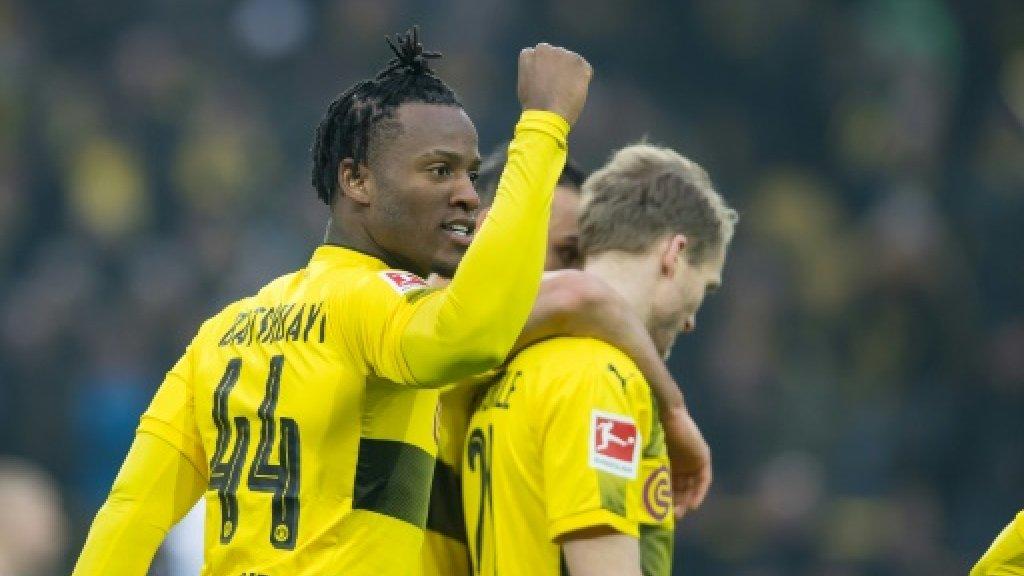 Batshuayi nets third goal in two Dortmund games