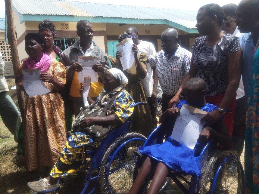 State donate disability equipment worth Sh900,000 in Siaya