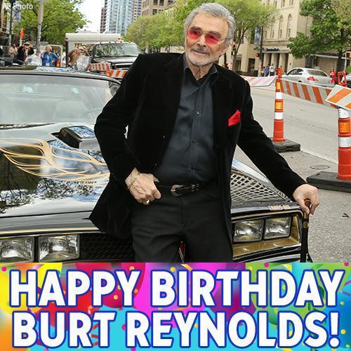 Happy Birthday to Burt Reynolds!