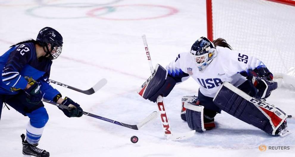 US women edge Finland in Olympic opener