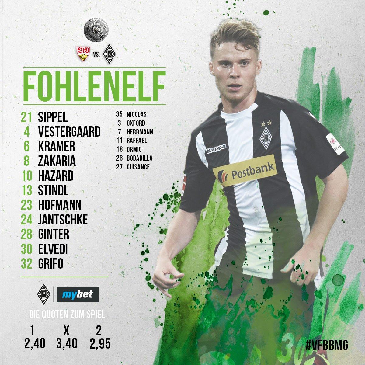 #Fohlenelf