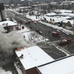 Three in hospital after explosion at commercial building in Mississauga