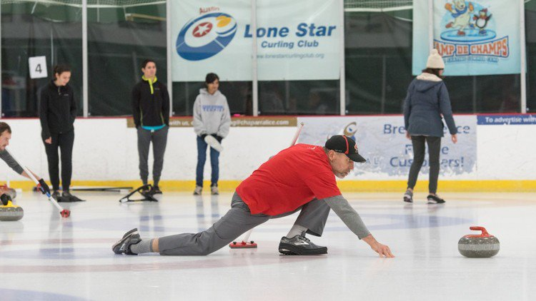 Got Olympic fever? Give curling a whirl