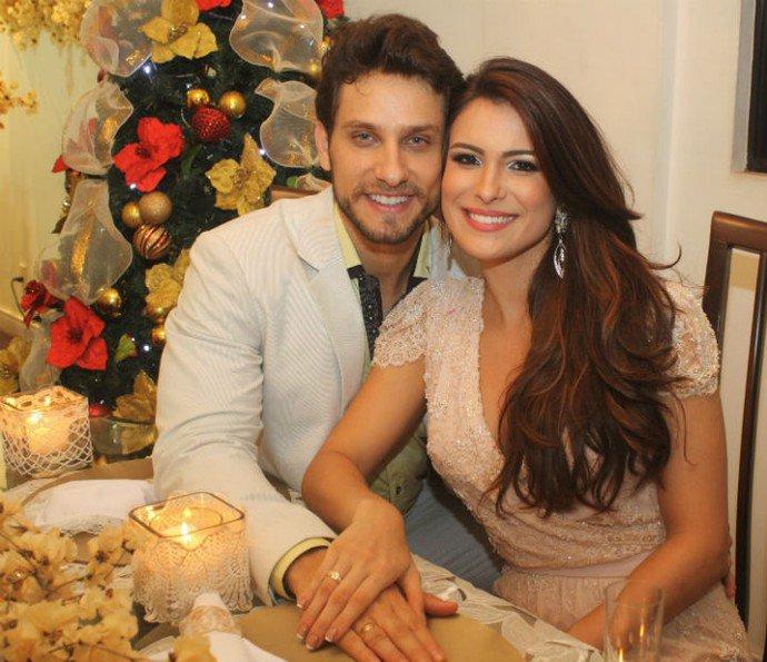 Elieser. Foto do site da Caras Brasil que mostra Kamilla Salgado e Eliéser elegem seu favorito no Big Brother Brasil 18