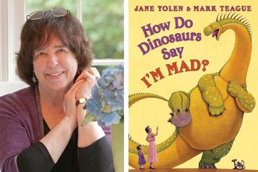 Happy birthday Jane Yolen! Did you know she writes children and teen books?