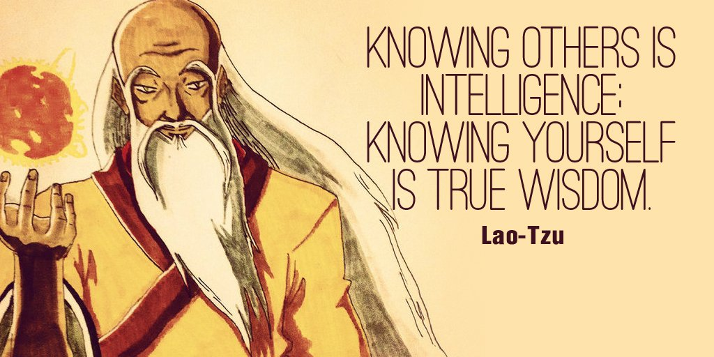 Knowing others is intelligence; knowing yourself is true wisdom. - Lao-Tzu #quote #ThinkBigSundaywithMarsha https://t.co/0kUwEwc34q