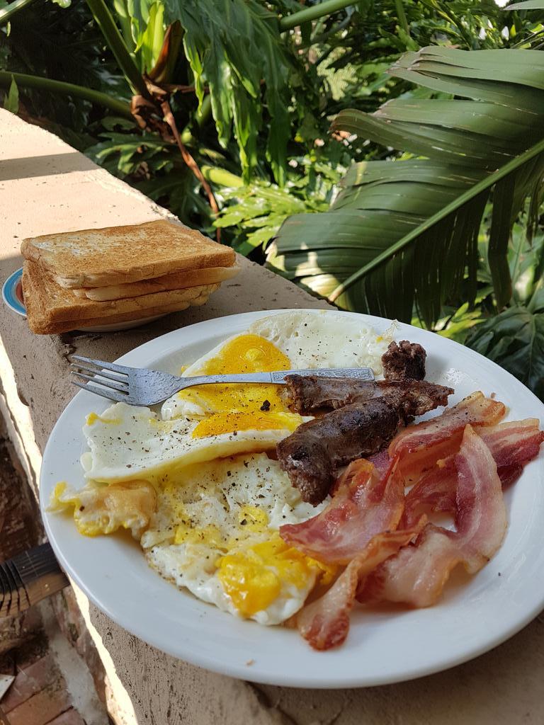 food @breakfast Protein Rich...