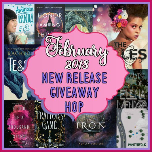 February 2018 New Release Giveaway Hop