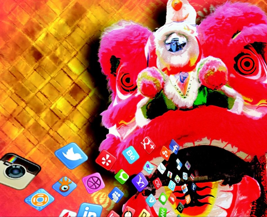 Social media-driven Chinese New Year