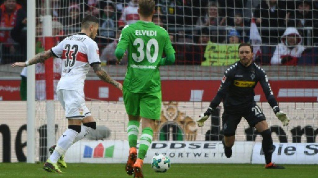 Stuttgart eke out first league win under Korkut