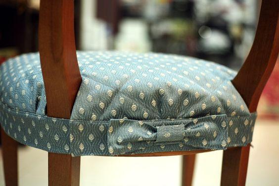 Сшить подушку для стула своими руками 26