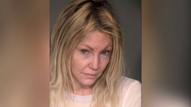 Heather Locklear arrested for alleged domestic violence