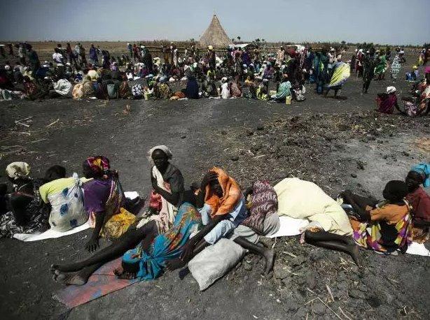Penduduk Sudan Selatan di ambang kebuluran