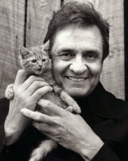 Happy Birthday to the man in black Johnny Cash