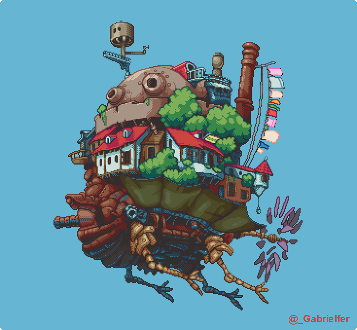 @tha_rami Hello Rami! I'm a brazilian pixel artist and game developer, working at @snapfingerclick. I started working on pixel art about 2 years ago, and I'm always trying to improve my vision! Here are my latest personal pixel arts. https://t.co/OlX5TmIEsu
