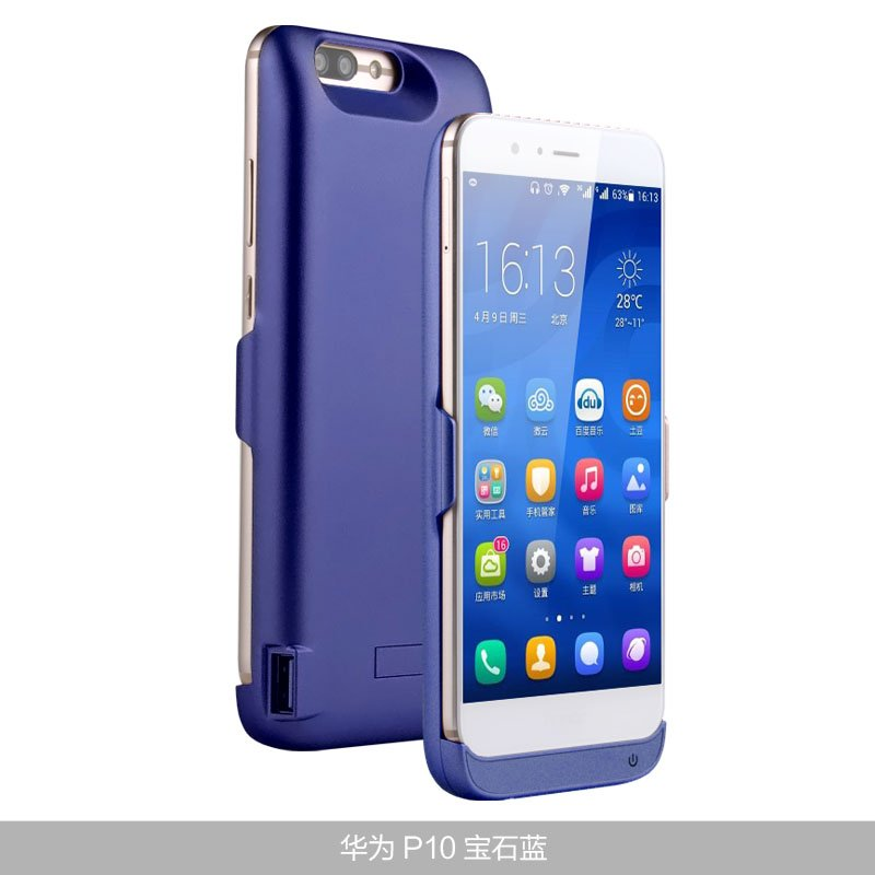 #smartphone 5500mAh/6500mah P 10 Power Bank Charger External Battery Backup P...