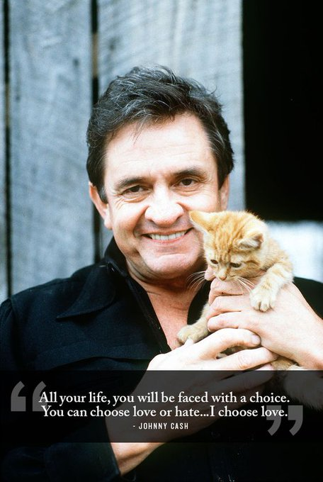 Happy birthday to the legendary Johnny Cash He would have been 86 today.