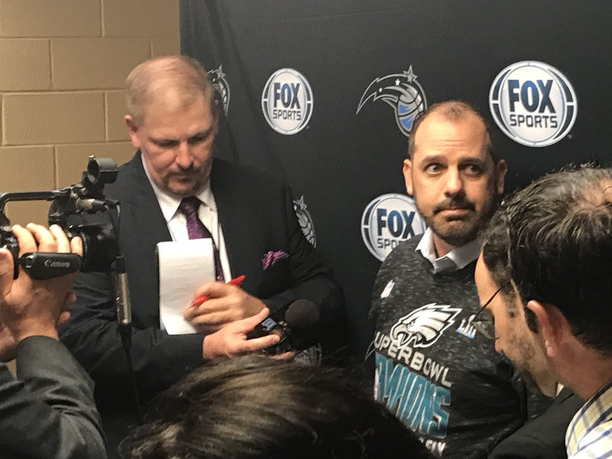 Magic coach Frank Vogel  a nat frank vogel
