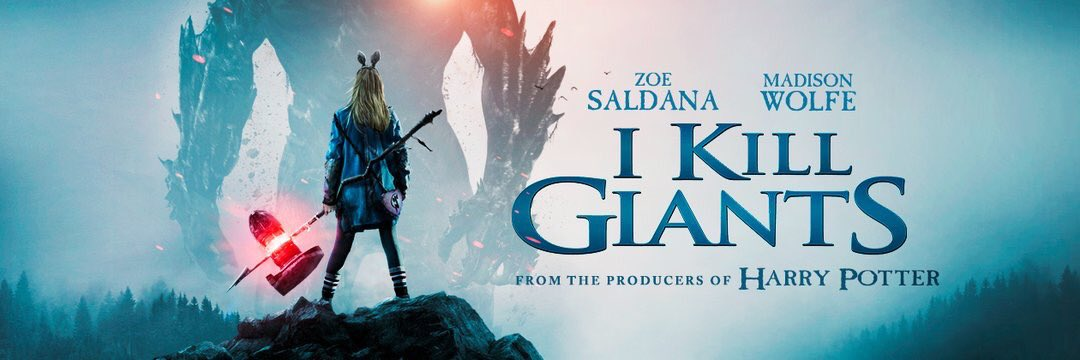 RT @ZSDaily: New banner for #IKillGiants Movie https://t.co/2MNa7RiSc2