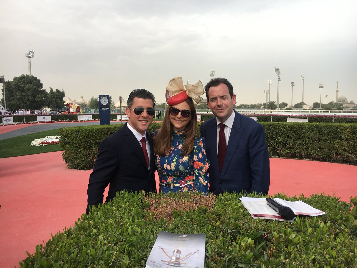 test Twitter Media - Anytime any TV station need an extra host I am FREE. My dream was to be on 📺. I wish I had your skills @nickluck @GinaHarding. @BreedersCup @TVG @NTRA @WatchXBTV @racing @NBCSports @kip @TheNYRA https://t.co/jVZCSP51nQ