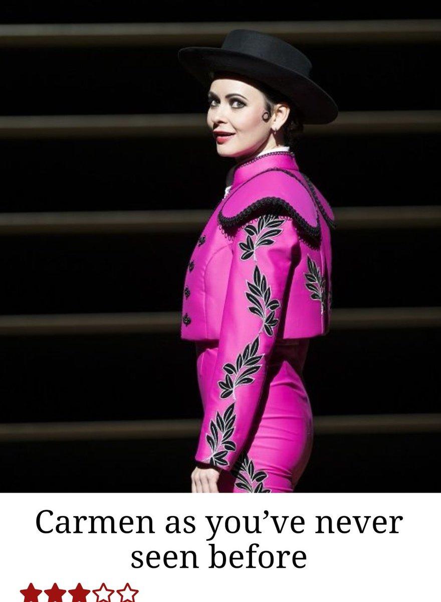 test Twitter Media - Still seeing mixed reviews on #ROHCarmen. I'll stand by my original thoughts. Carmen: Terrific performances, puzzling staging.  #ROHCarmen ⭐⭐⭐ @RoyalOperaHouse #Opera #Bizet  https://t.co/IKim9DEY78 https://t.co/0YtOnIMLWw