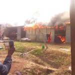 Central Police cops appeal for mattresses, blankets after fire razes down their houses