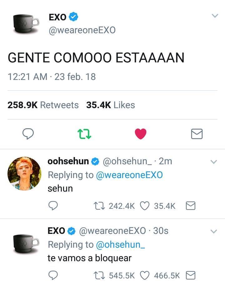 RT @ExoLatinoameric: [RANDOM] Sehun haciendo de las suyas. cr. a quien le corresponda. #EXO_Olympics @weareoneEXO https://t.co/kSqKzX8cM6