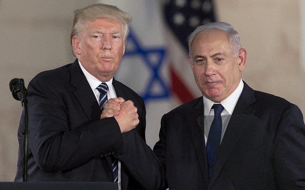 TimesofIsrael netanyahu