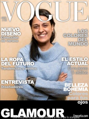 RT @detrastrastras: Esta semana, con la revista Vogue👇🏻👇🏻👇🏻 https://t.co/45610sHwaz