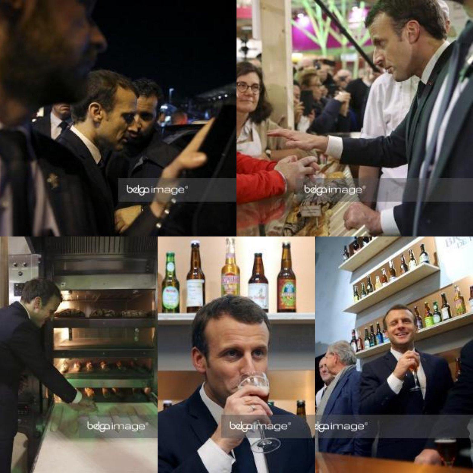 Emmanuel Macron au Salon de l'Agriculture 2018 #EmmanuelMacron #Macron #SIA2018 @EmmanuelMacron https://t.co/KyOkGKCzAA