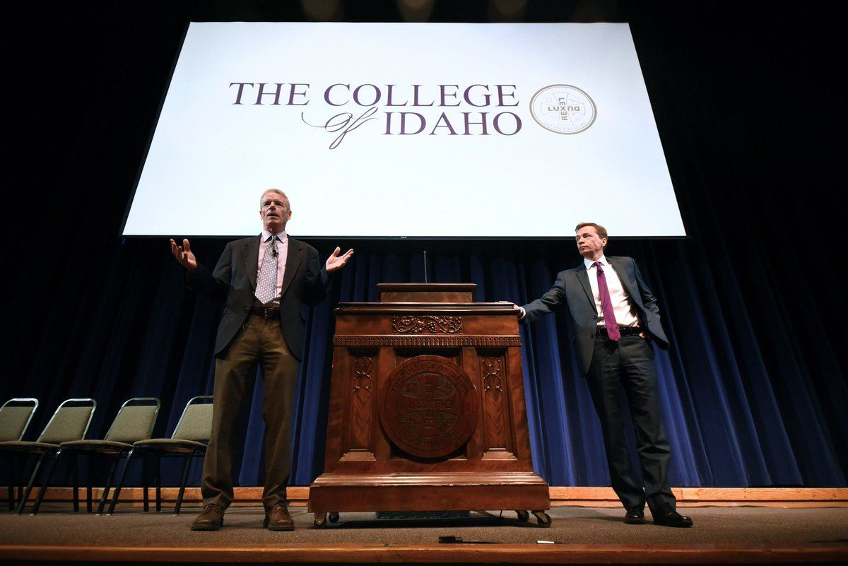 For the first time in school history, the College of Idaho names co-presidents | Idaho Statesman