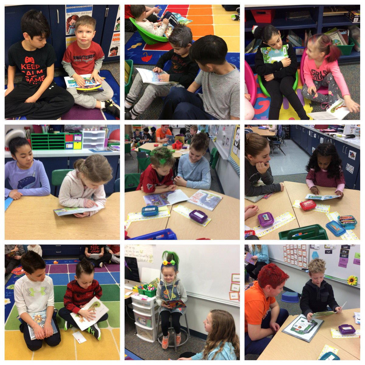 test Twitter Media - It is so special to have our buddies read to us! @WildcatsKK #d30learns # wbplays https://t.co/LqxRGArRIp