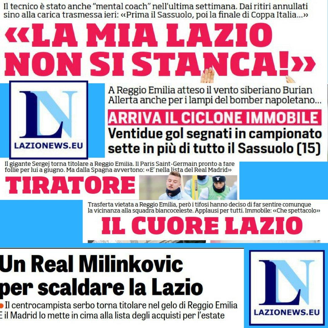 #SassuoloLazio