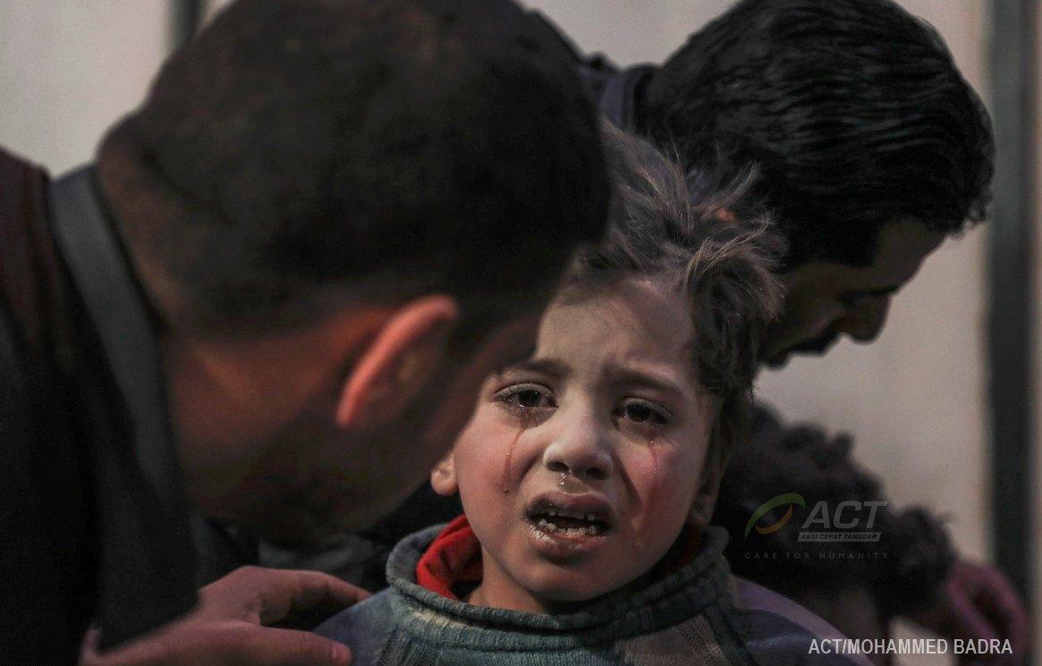 #SelamatkanGhouta