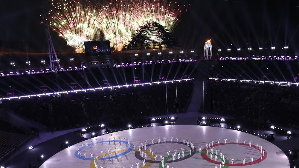 Live photos: Winter Olympics closing ceremony in Pyeongchang