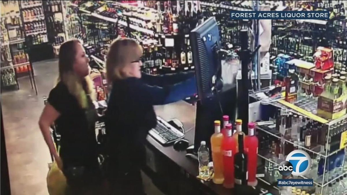 VIDEO: Oklahoma mother-daughter duo shoot would-be robber in their liquor store