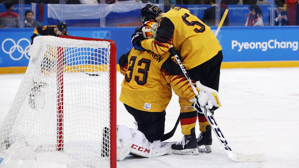 Germans dejected after coming so close to gold medal