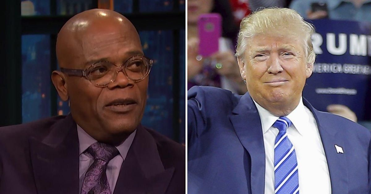 Samuel L. Jackson rips 'Muthafu--a' Trump's plan to arm teachers https://t.co/DXRDQua84v https://t.co/mr8jGHDHmC