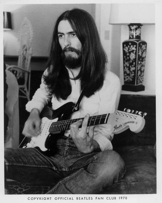 Happy birthday to the legendary George Harrison! He would have been 75 today.