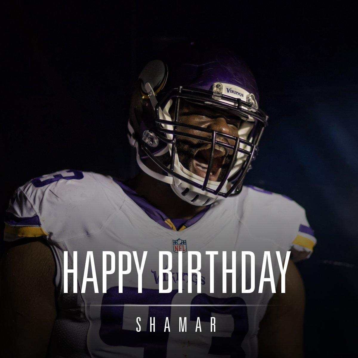 Happy birthday, Shamar! https://t.co/lfgBCP2BpO