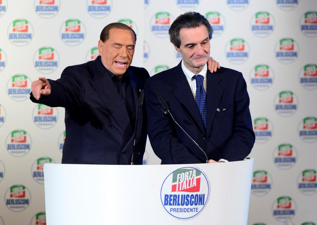 Italy's Berlusconi regales fans a week ahead of vote
