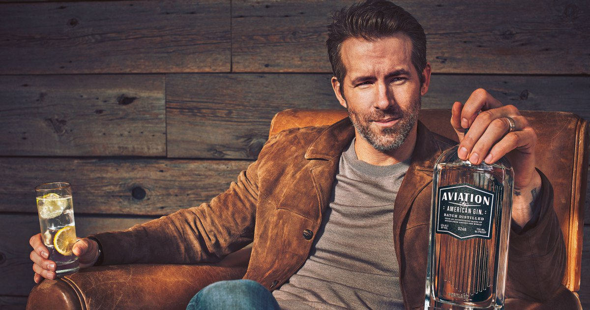 Ryan Reynolds now owns a liquor company: