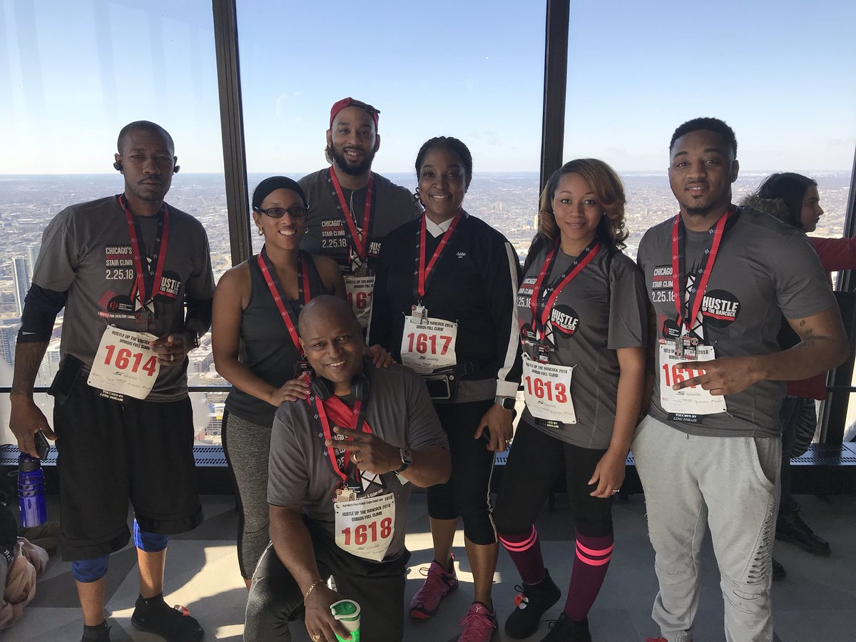 test Twitter Media - #TeamWelch made it!  All the way up! 95 stories.  #HustleuptheHancock #RespirstoryHealthAssociation https://t.co/2bNjt0VsWB