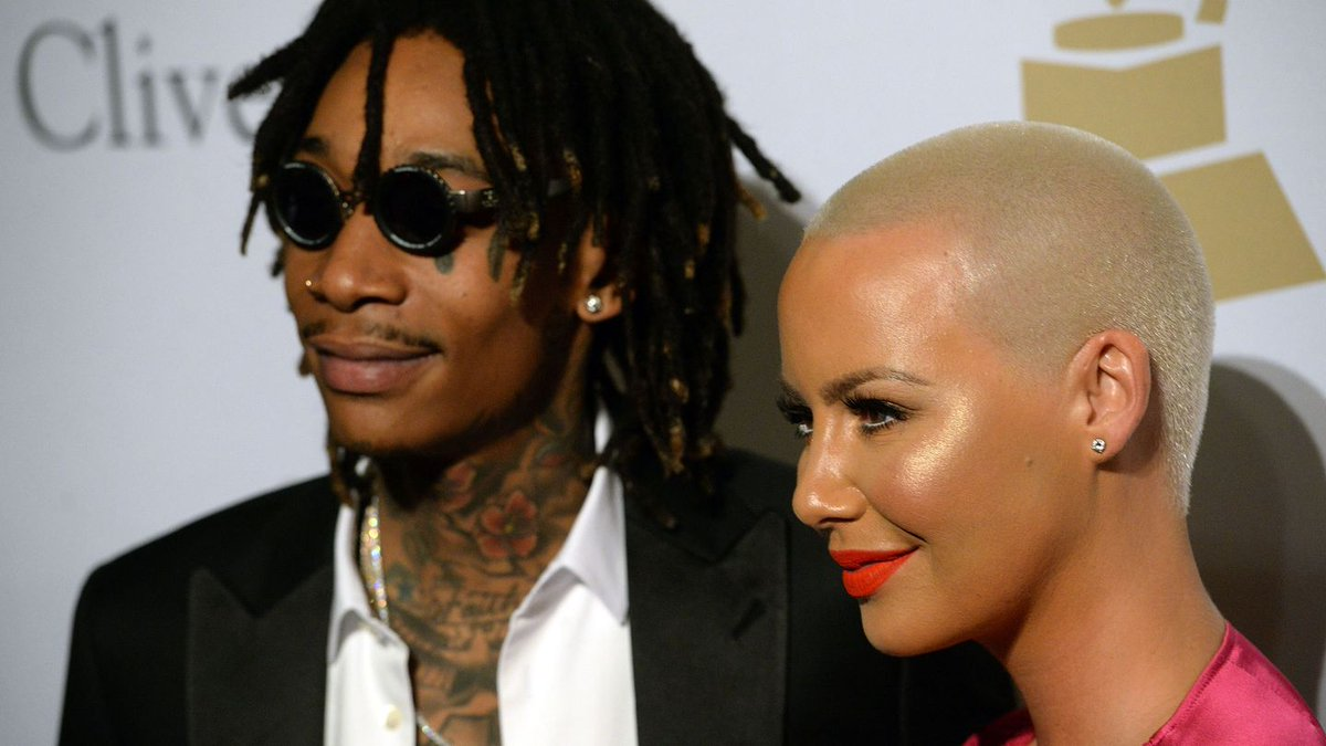 Amber Rose And Wiz Khalifa Dressed As Suicide Squad's Fave Couple For Their Son's Birthday