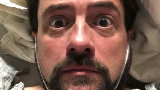 'Silent Bob' has heart attack after show: director Kevin Smith tweets from hospital bed